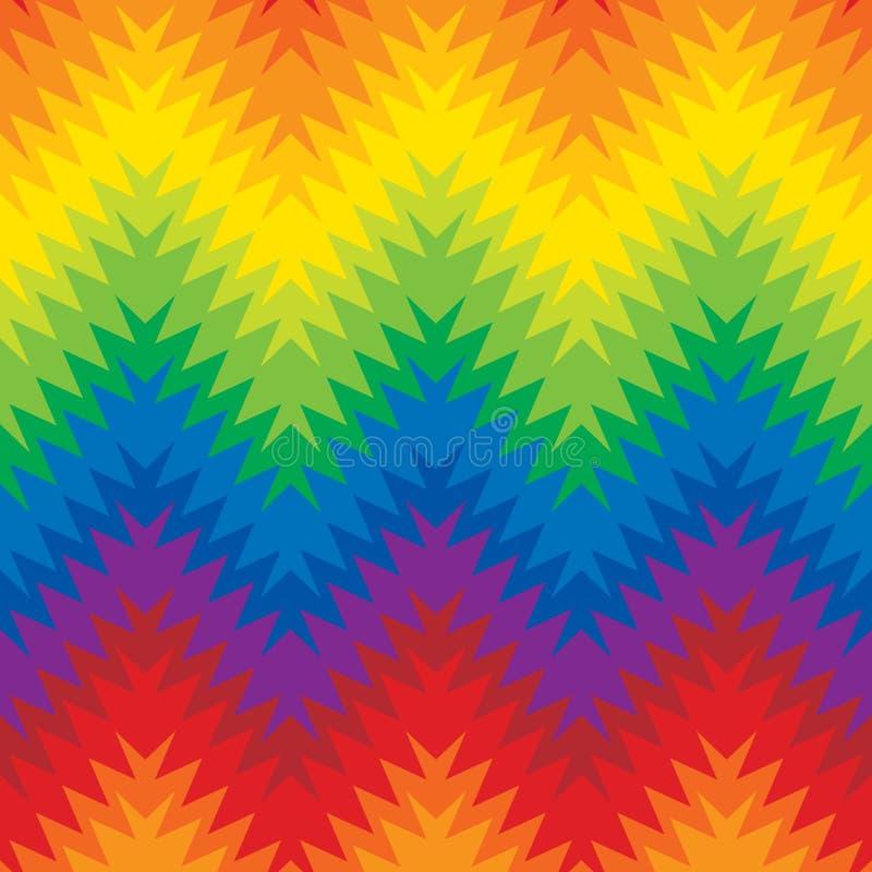 Zigzag trouble illustration stock