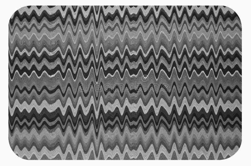 Zigzag y línea modelo de la onda de alfombrilla de ráton fotos de archivo libres de regalías