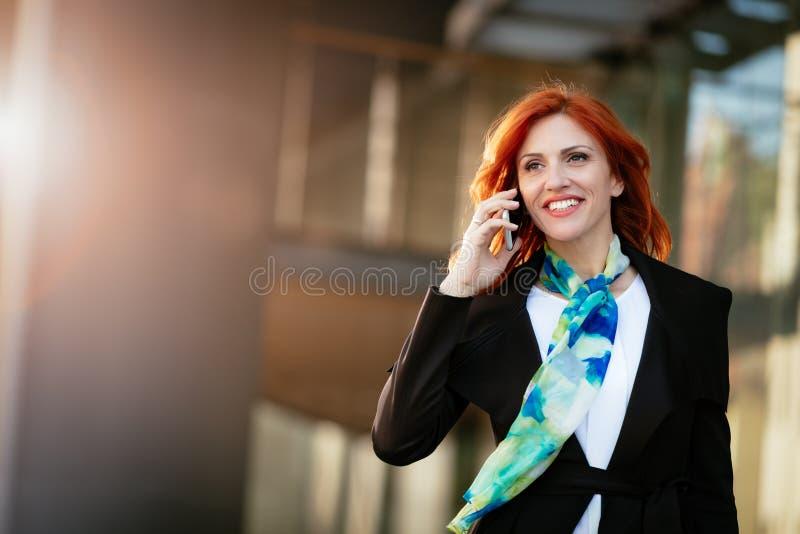 Zij was Geboren voor Succes stock fotografie