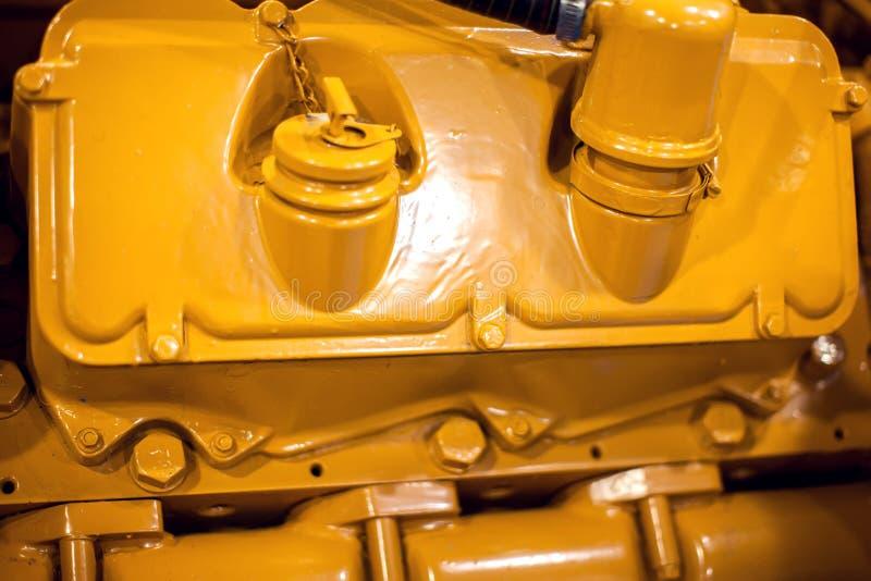 Zijaanzicht van een Gedetailleerde de close-upspruit van de motorboot motor Recreatie, technisch concept stock foto