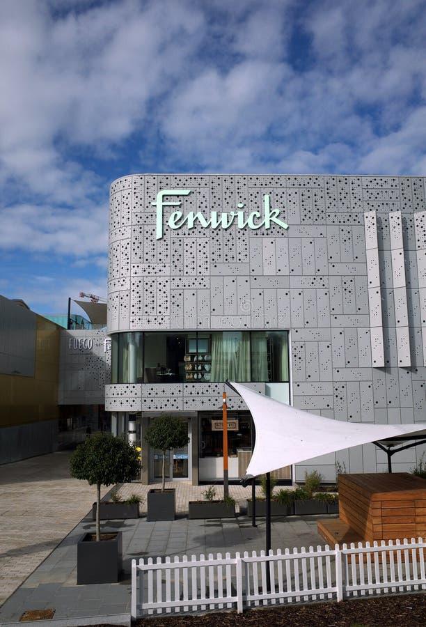 Zijaanzicht van het Warenhuis van Fenwick in Bracknell, Engeland royalty-vrije stock foto's