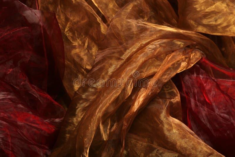 Zijdeachtige textielachtergrond royalty-vrije stock foto