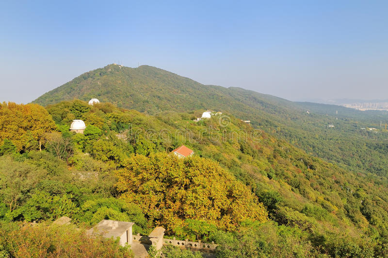 Zijing Mountain royalty free stock images