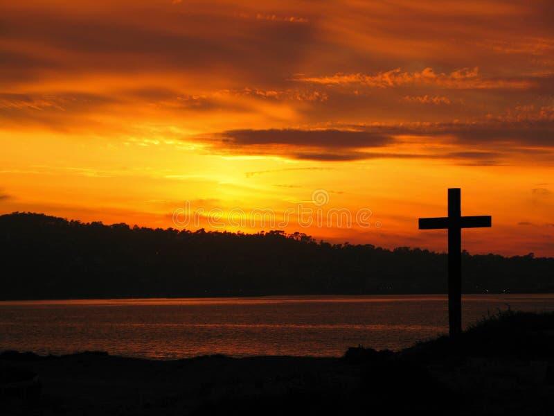 Zijn Kruis stock afbeelding