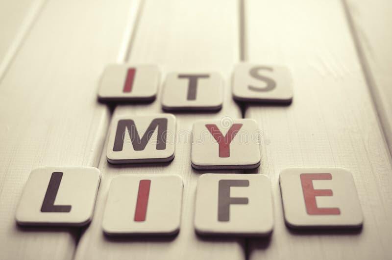 Zijn Mijn Leven stock foto
