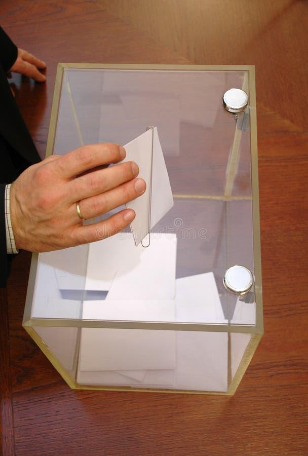 Zijn tijd voor verkiezingen royalty-vrije stock fotografie