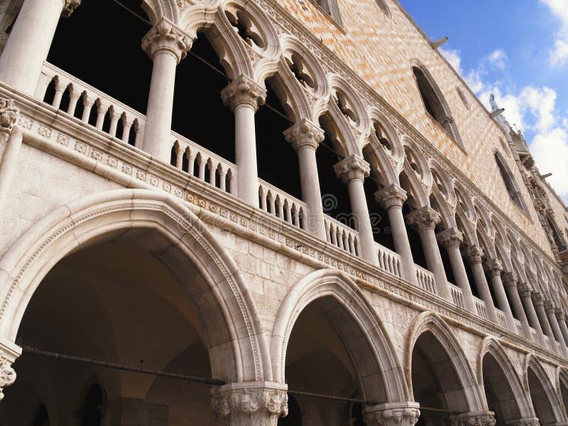 Zijsprongenpaleis in Venetië royalty-vrije stock foto