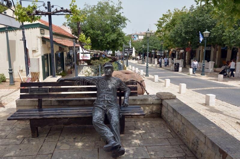 Zikhron Yaakov以色列 库存照片