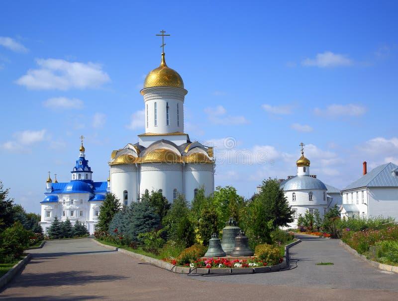 Zilant ortodoksyjny monaster w Kazan fotografia stock