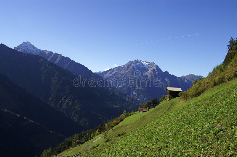 Zillergrund Royalty Free Stock Photography