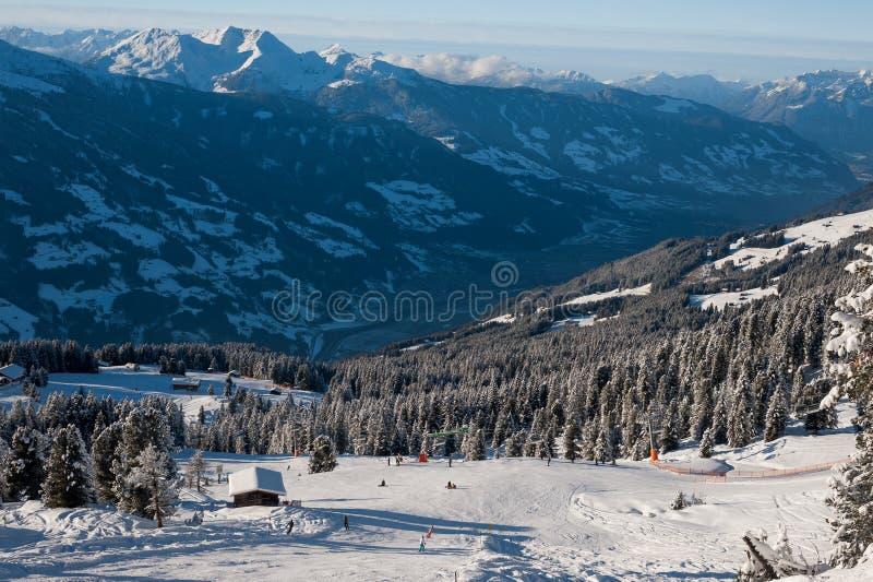 Zillertal Arena stock photography