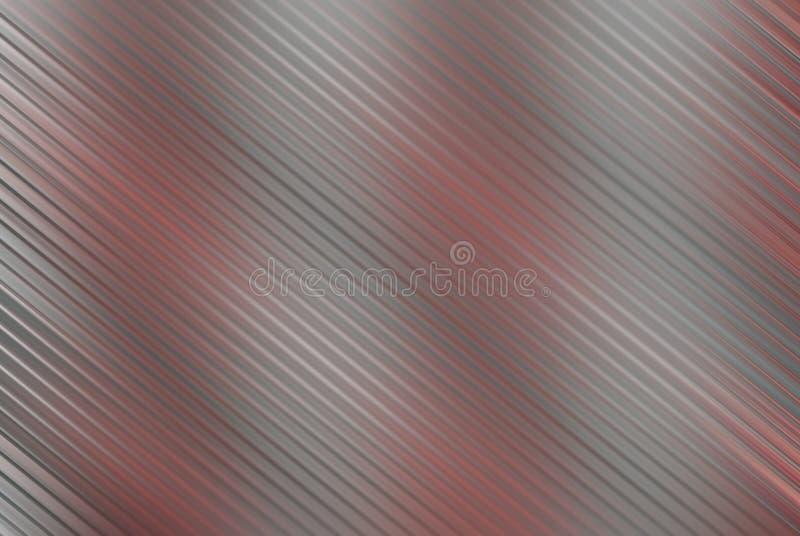 Zilver en rood in motieonduidelijk beeld royalty-vrije stock foto's