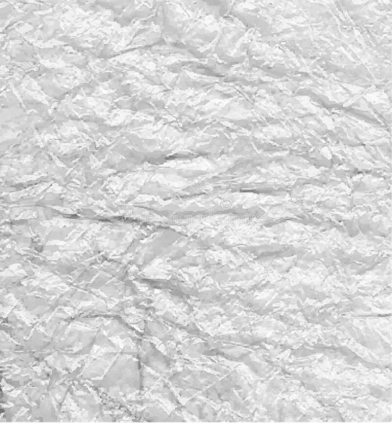 Zilver verfrommelde achtergrond stock foto