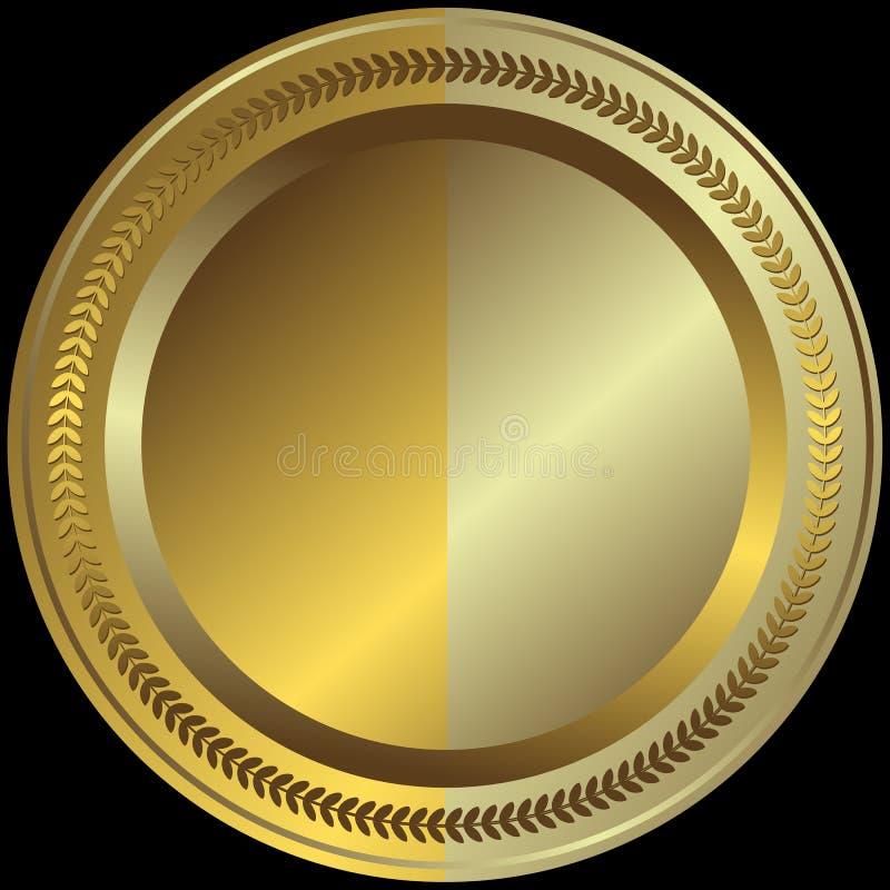 Zilverachtige En Gouden Plaat Gratis Stock Afbeeldingen