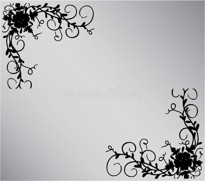 Zilveren achtergrond vector illustratie