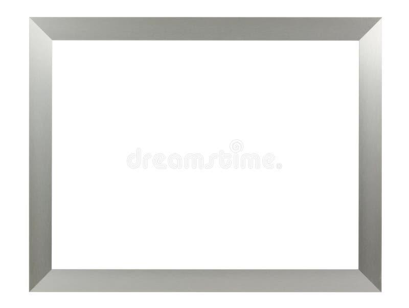 Zilveren aluminiumomlijsting royalty-vrije stock fotografie