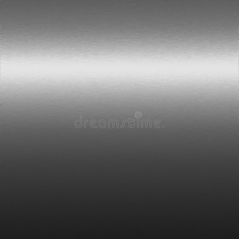 Zilveren chroomtextuur, achtergrond aan ontwerp royalty-vrije illustratie