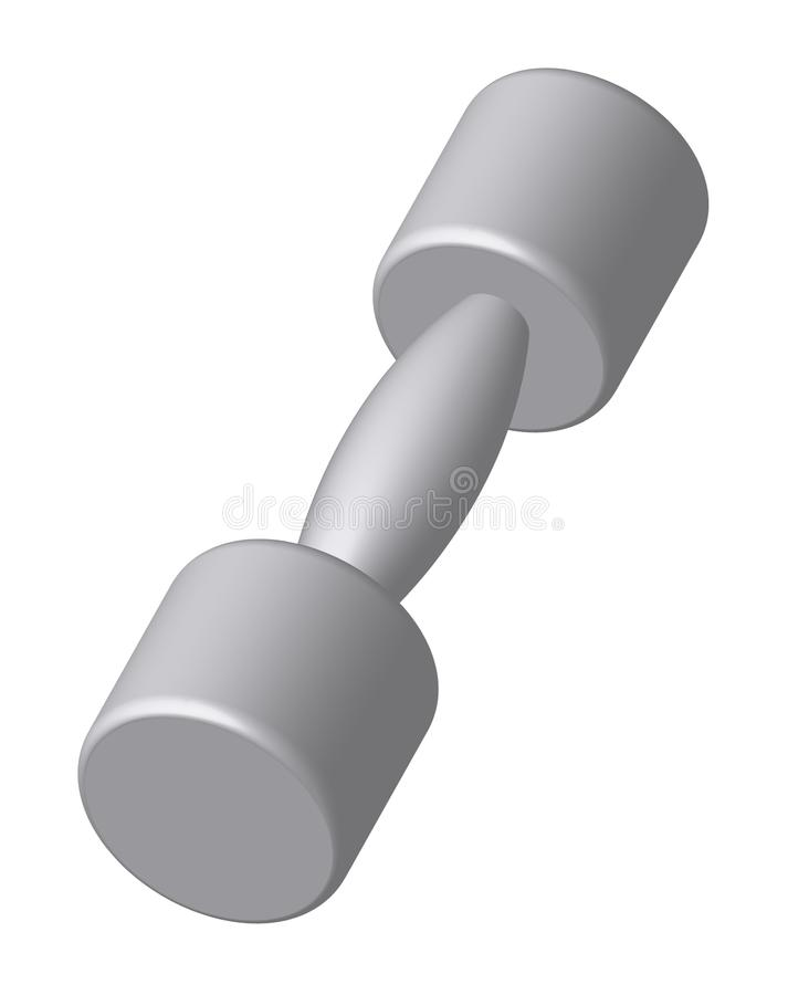 Zilveren domoor stock illustratie