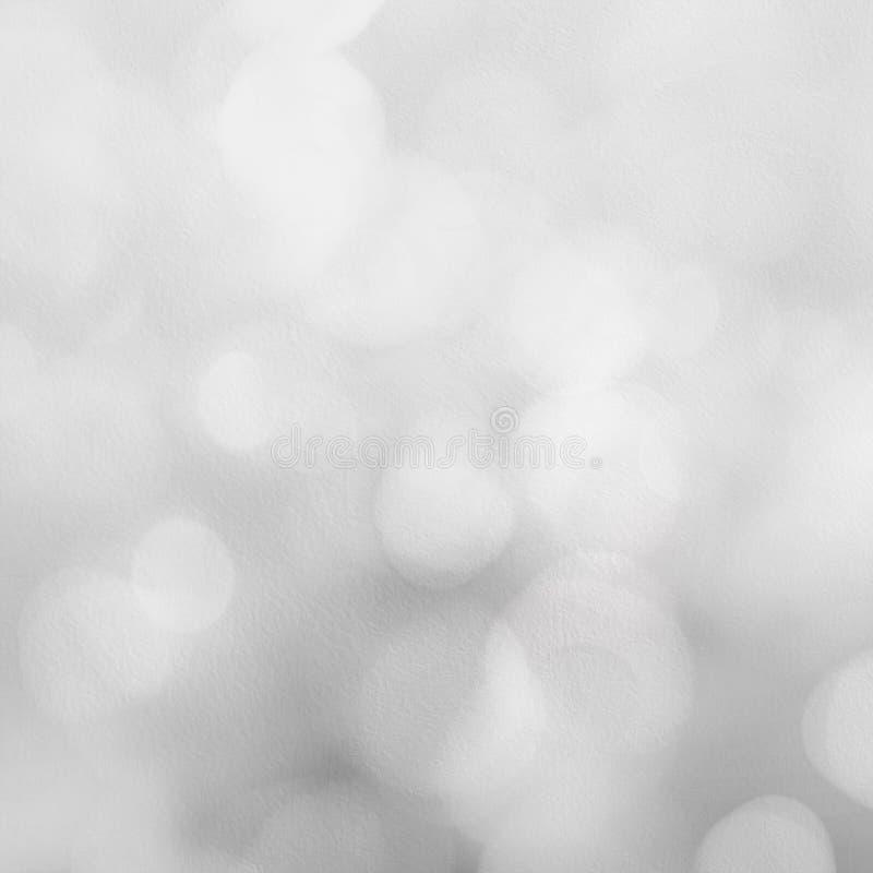 Zilveren Feestelijke Kerstmisachtergrond De samenvatting fonkelde heldere bedelaars vector illustratie
