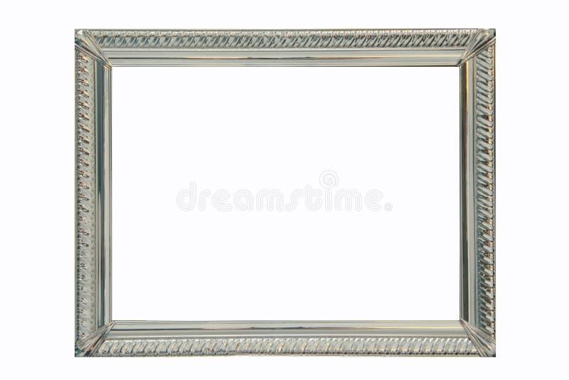 Zilveren frame royalty-vrije stock foto's