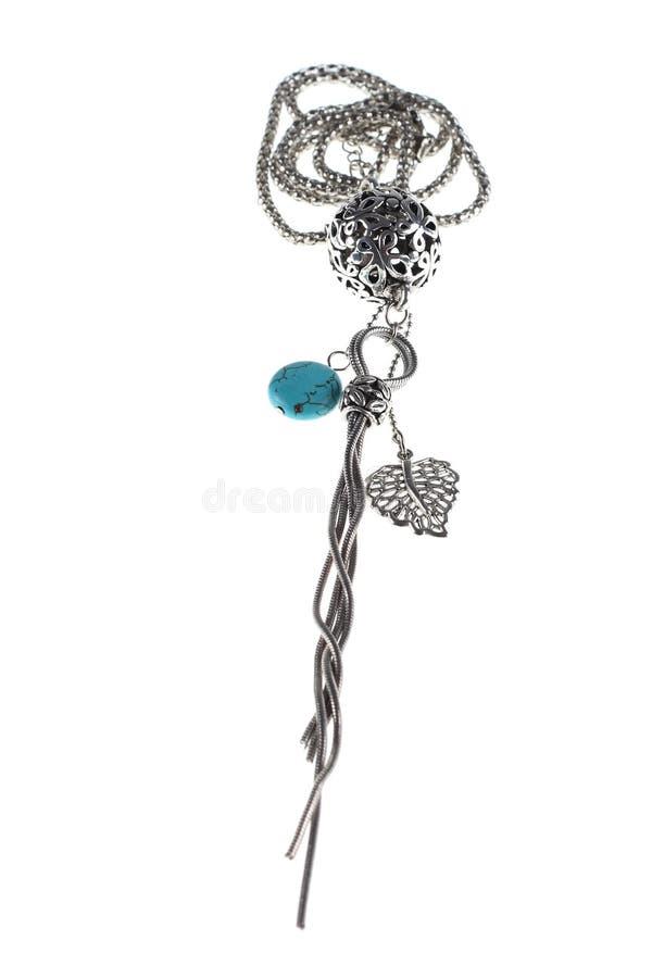 Zilveren jewelery stock fotografie