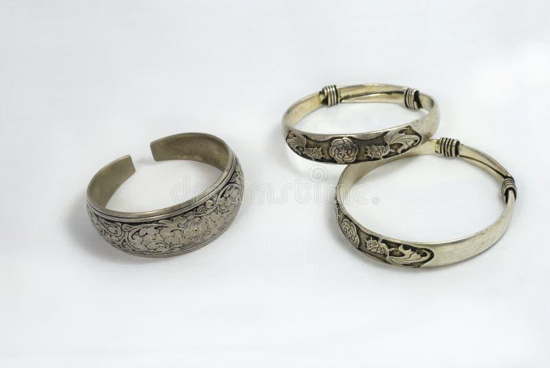 Zilveren Juwelen royalty-vrije stock afbeeldingen