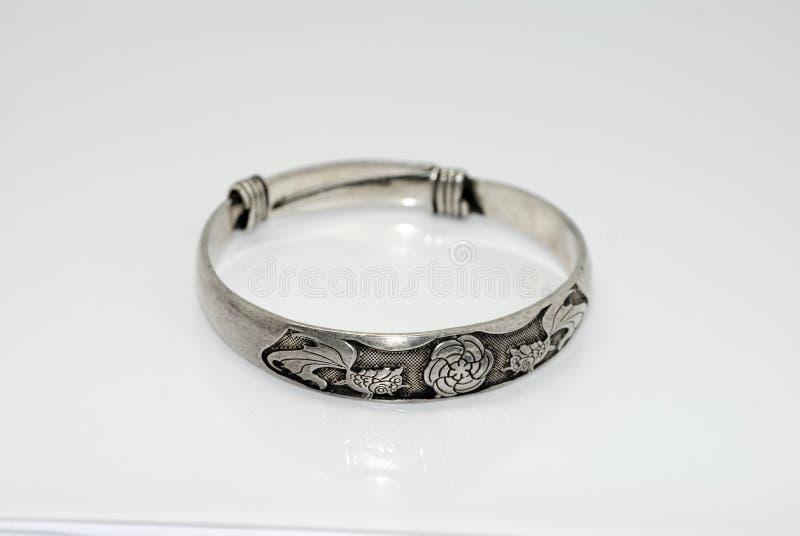 Zilveren Juwelen stock afbeelding