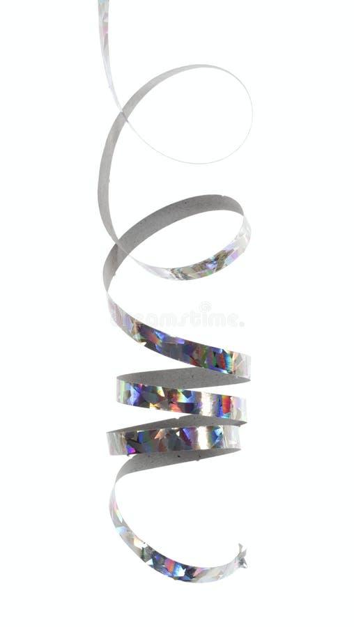 Zilveren lint stock afbeelding