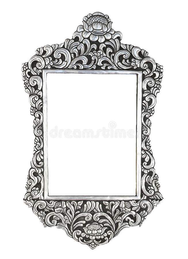 Zilveren metaal overladen plaat ontworpen achtergrond royalty-vrije stock afbeeldingen
