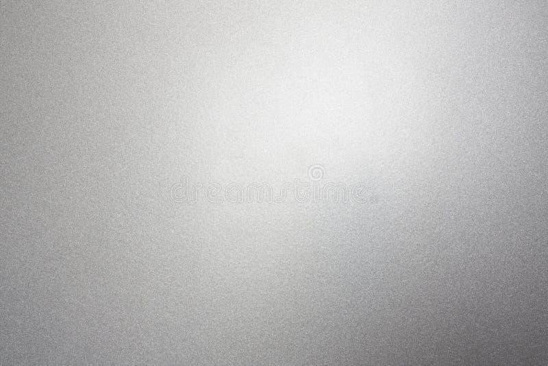 Zilveren metaalchroom als achtergrond stock afbeelding