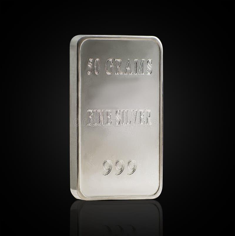 Zilveren passement stock afbeelding