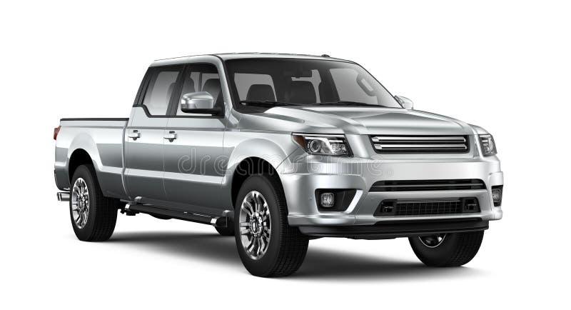 Zilveren pick-up vector illustratie