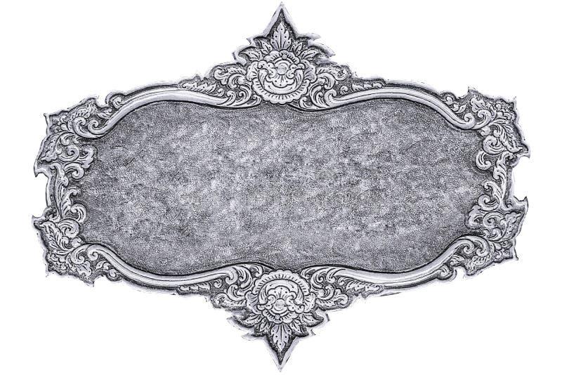 Zilveren snijd royalty-vrije stock afbeelding