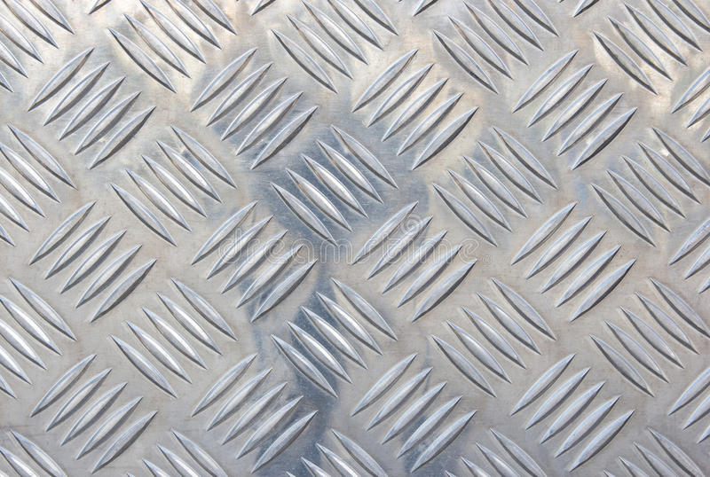 Zilveren staal met glanzende metaalachtergrond stock foto