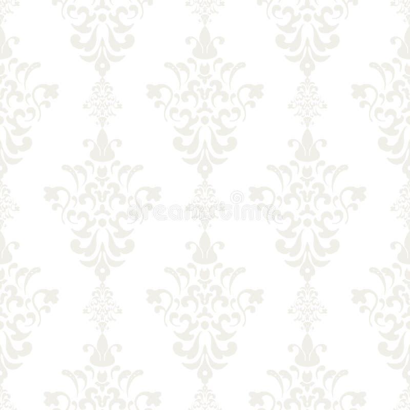 Zilveren uitstekend naadloos behang vector illustratie