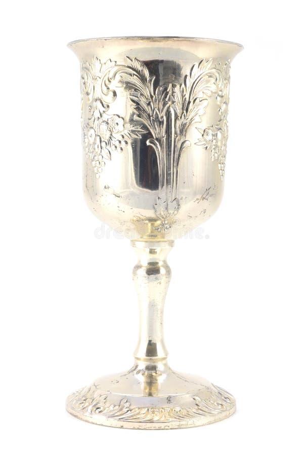 Zilveren Wijnkop stock afbeeldingen