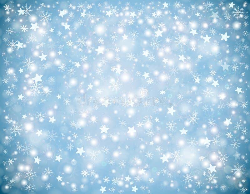 Zim bożych narodzeń tło ilustracji