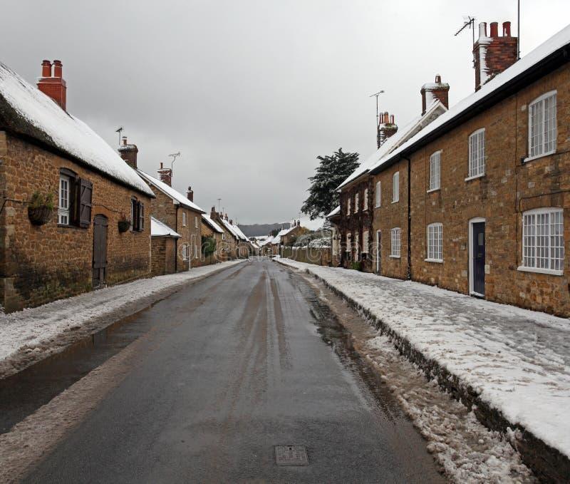 Zima śnieg obraz royalty free