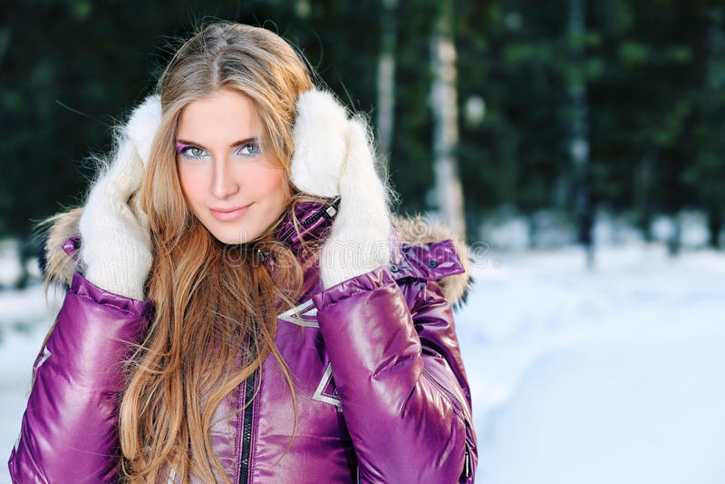 zima obraz royalty free