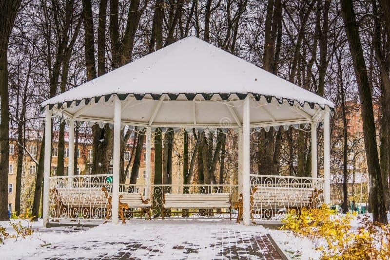 Zima bielu alkierz zdjęcie stock