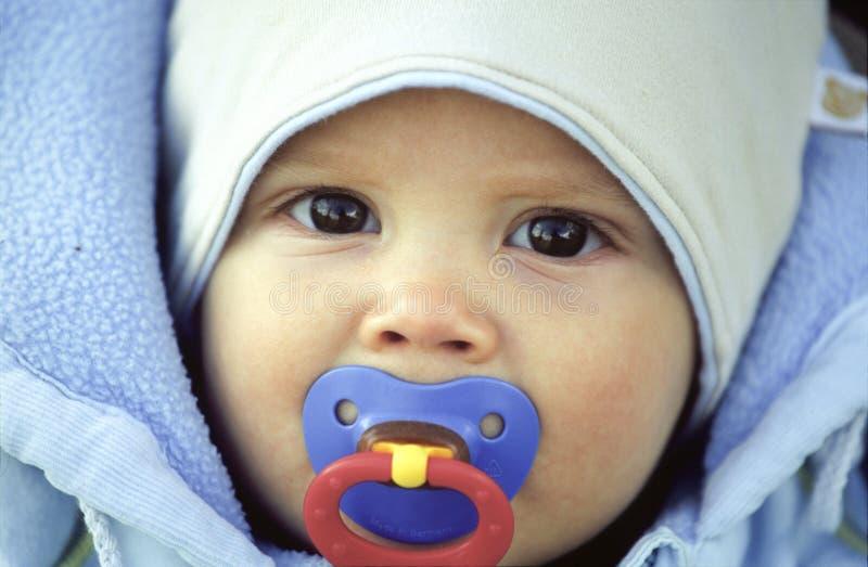 zima dziecka zdjęcia stock