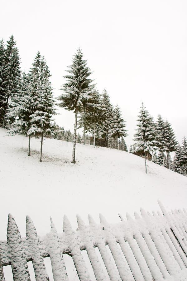 zima hill zdjęcia stock
