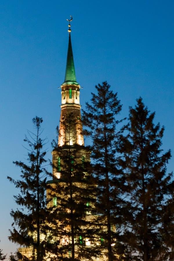 Zima Kazan Kremlin zdjęcie stock