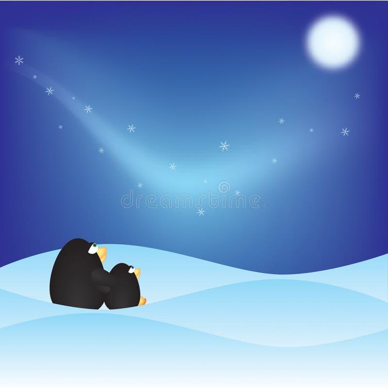 zima kraina cudów royalty ilustracja