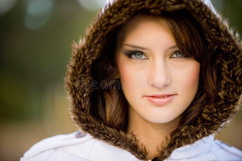 Zima Model zdjęcia stock
