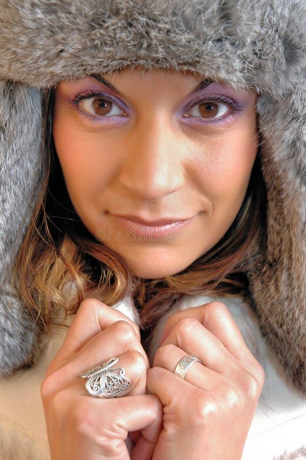 zima mody fotografia royalty free