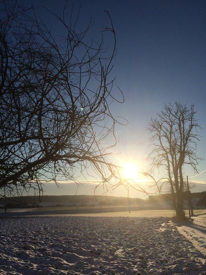 zima norway zdjęcie stock