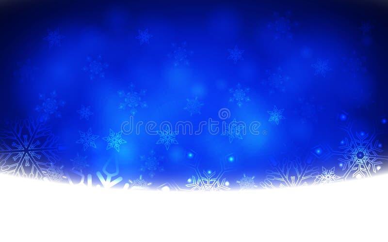 Zima płatka śniegu Abstrakcjonistyczny tło również zwrócić corel ilustracji wektora ilustracji