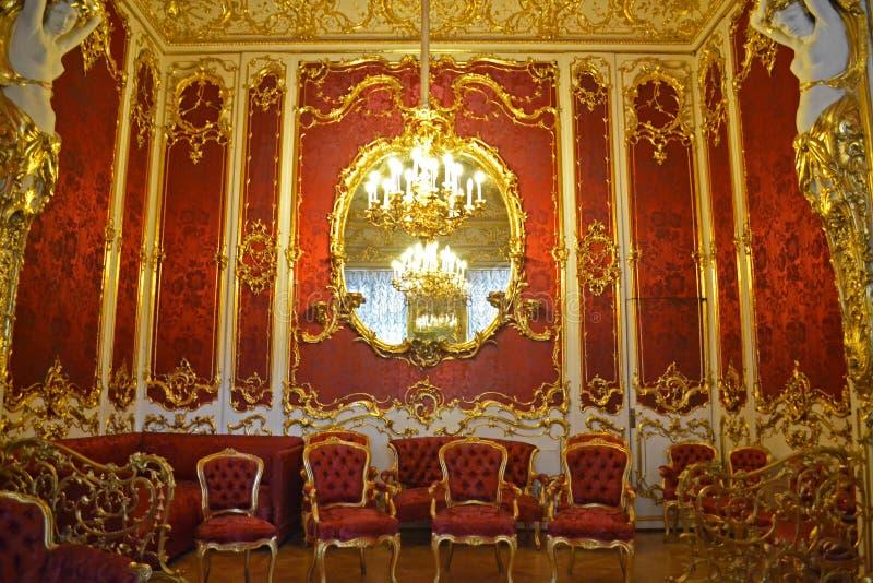 Zima pałac obraz royalty free