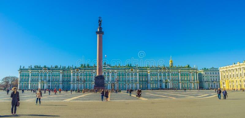 Zima pałac obrazy royalty free